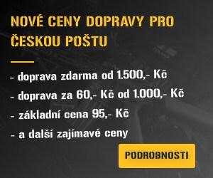 Nové ceny dopravy pro ČESKOU POŠTU