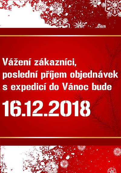 Vánoční provoz 2018